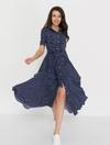 Платье SS20DRSHIRTLONG синий